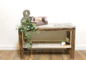 DIYベンチのイメージ