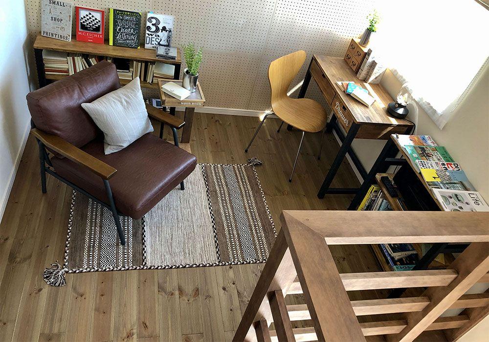 モデルハウスのフリースペース、プチリニューアル。在宅ワーク仕様に!