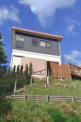 高台のお家のイメージ
