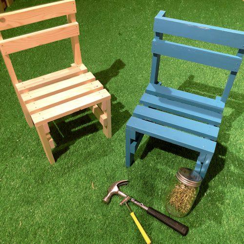 【KIDS】小さな椅子づくり