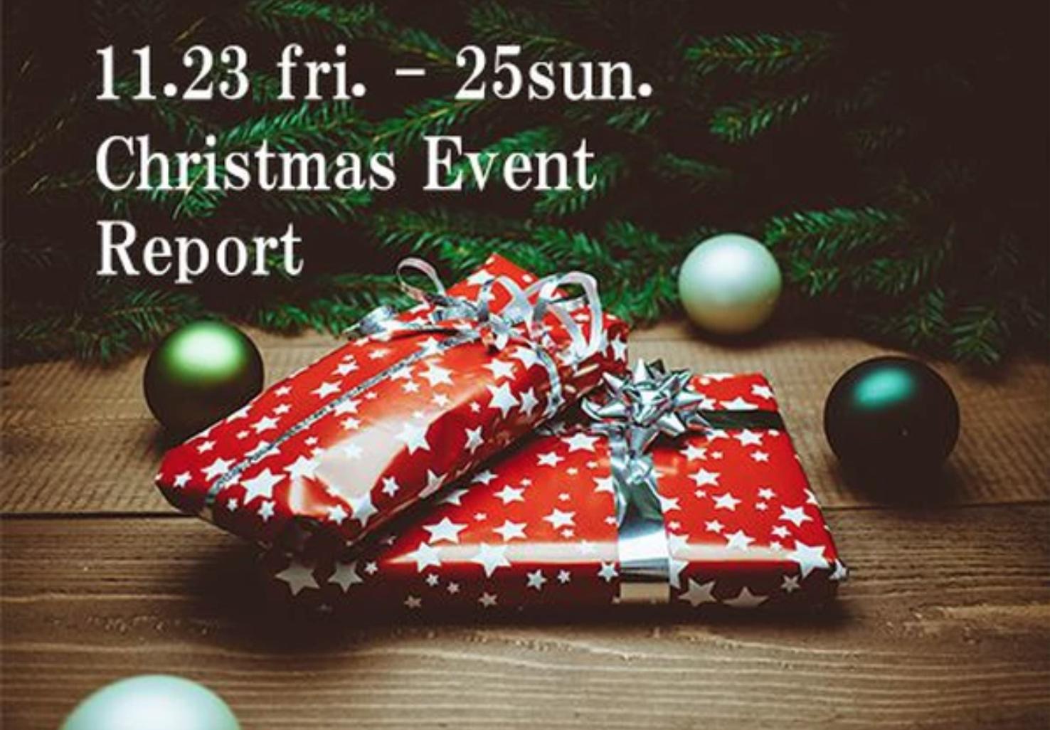 【イベント報告】11/23fri.-25sun.クリスマス リース&ツリー作り