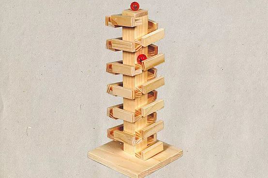 【KIDS】コロコロドミノタワー