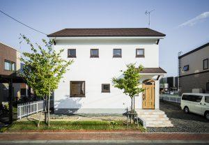 新築のお家の外観イメージ