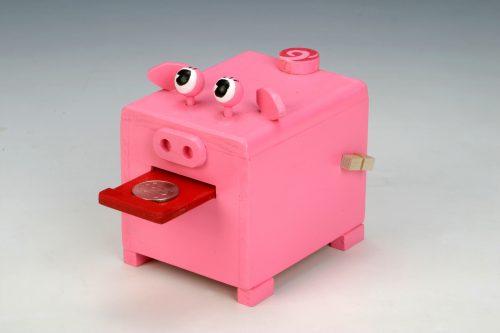 【KIDS】豚の貯金箱